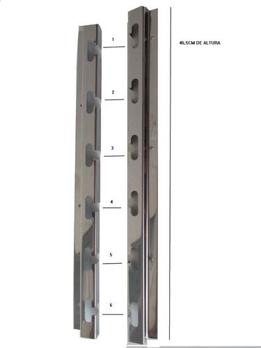 Suporte P/ Churrasqueira Altura 47cm E Barras 75cm
