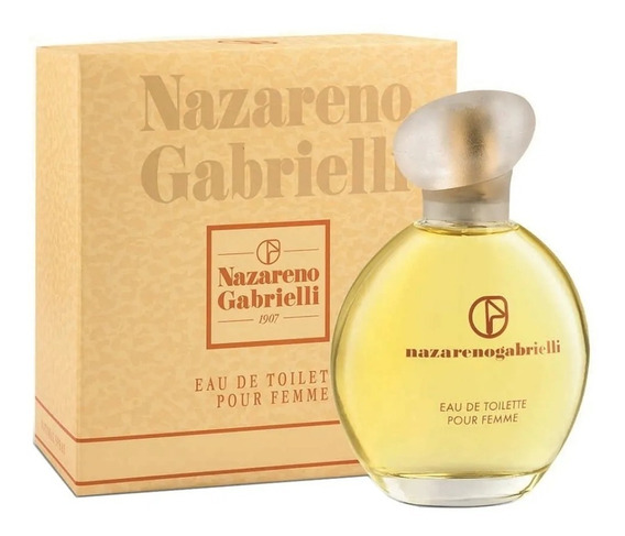 Perfume Nazareno Gabielli Edt Fem Lacrad100%original+amostra