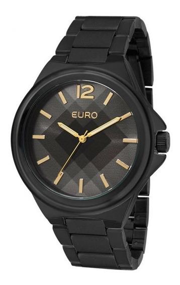 Relógio Euro Feminino Colors Eu2035ydp/4p - Preto
