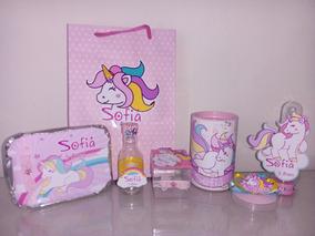 Unicornio Kit Festa Infantil Personalizado - 70 Pçs