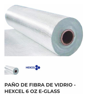 Tela De Fibra De Vidrio E-cloth 6oz (x 10mts) / Surf Boards