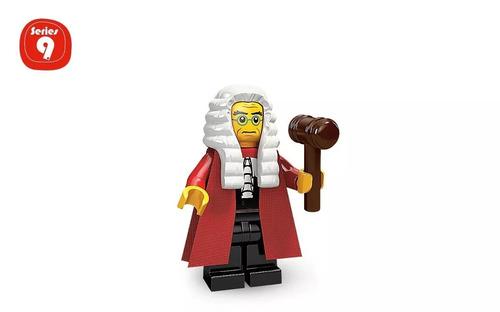 Minifigura De Lego Juez-judge Serie 9
