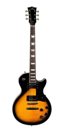 Guitarra Michael Gm755n Vs Lp Strike Custom Vintage Sunburst