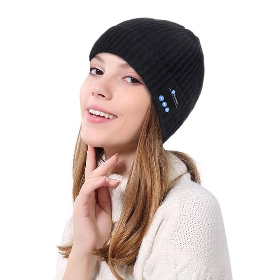 Sem Fio Bluetooth Música Chapéu Inverno Quente Gorros Chapéu