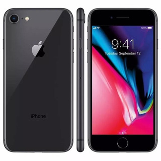 Apple iPhone 8 64gb 4g Tela Retina 4.7 Cinza Espacial