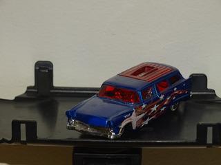Hot Wheels Loose 8 Crate Azul