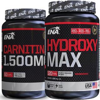 Rapido Quemador Grasa Abdominal Hydroxy Max + Carnitina Ena