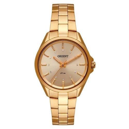 Relógio Orient Feminino Dourado Fgss0124 C1kx