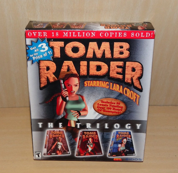 Tomb Raider - The Trilogy - Pc