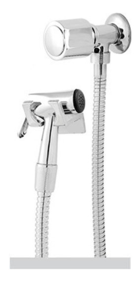 Ducha Higienica Completa 100% Metal 1/4 De Volta C-40