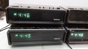 Rádios Relógio Antigos, 4 Peças Para Restauro, Leia.