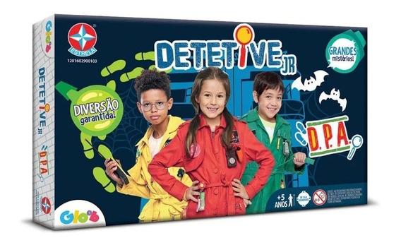 Jogo Detetive Jr D.p.a Detetives Do Prédio Azul - Estrela
