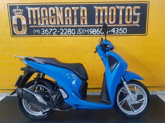 Honda Sh 150 I - Azul - 2017 - Km 9.000 Gil 947234344