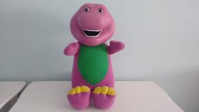 Pelúcia Com Vinil Dinossauro Barney -36 Cm Multibrink