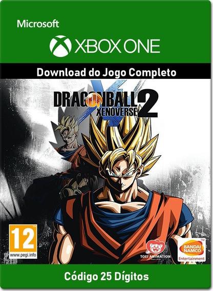 Dragon Ball Xenoverse 2 Xbox One - 25 Dígitos.