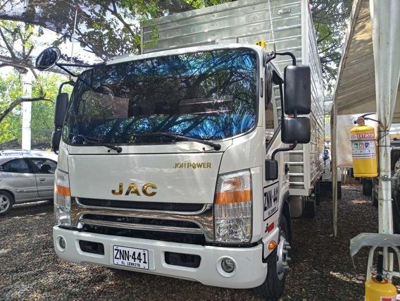 Jac Hfc1063 Motor 3.8 2020 Blanco 7 Toneladas