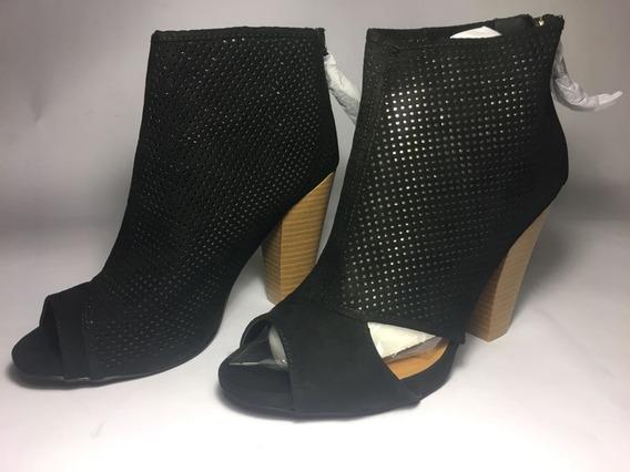 Zapato Nuevo Botas Mujer Dama Marca Qupid Talla 6 Mex