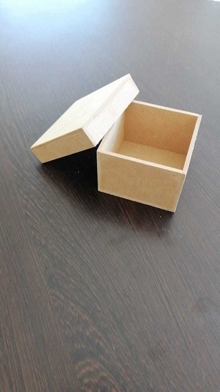 Caja Con Tapa 8x8x8 Mdf