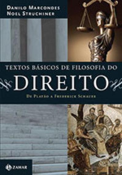 Textos Básicos De Filosofia Do Direito