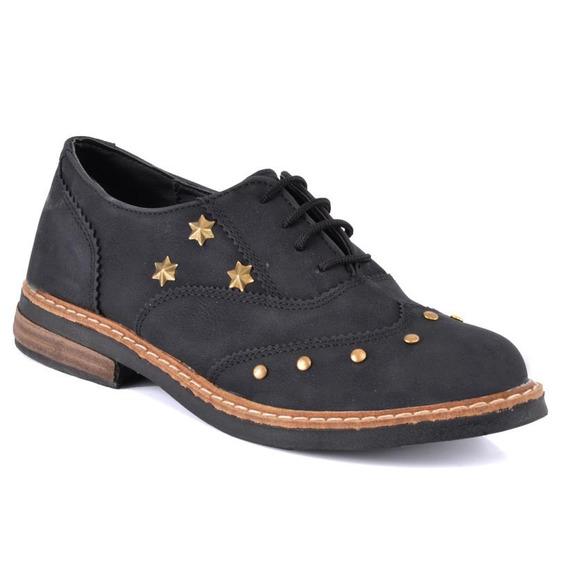 Zapato Tres Corazones 302-z Negro