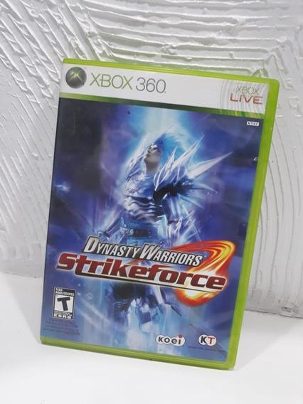 Jogo Xbox 360 Dynasty Warriors: Strikeforce Original Mídia