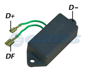 Regulador Voltagem Alternador Fusca Brasilia Kombi Gol Ga003