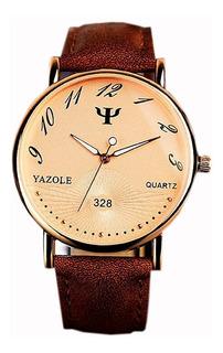 Reloj Hombre - Elegante Delux + Caja De Regalo - Oferta