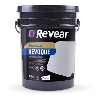Revear Revestimiento Revoque Plastico A Rodillo Flexible 5kg
