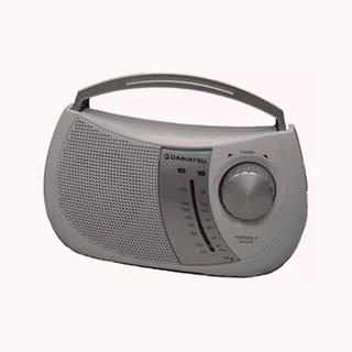 Radio Portatil Am Fm Daihatsu D-rp38 A Pilas O 220v