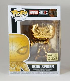 Funko Pop! 440 Iron Spider Chrome Marvel -candos Jugueteria