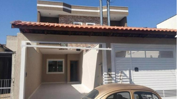 Sobrado Geminado Alto Padrão Para Venda Em São Paulo, Vila Carrão, 3 Dormitórios, 1 Suíte, 3 Banheiros, 2 Vagas - 0140