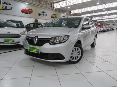Renault Logan Expression 1.6 Flex 8v Completão C/ Multimídia