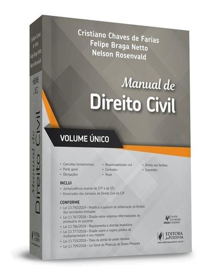 Manual De Direito Civil - 4ª Ed. 2019