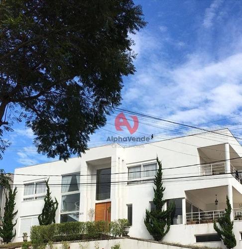 Imagem 1 de 13 de Alphasítio - Casa Com 4 Suítes À Venda, 550 M² - Alphaville - Santana De Parnaíba/sp - Ca6071
