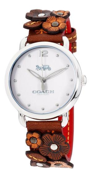 Relógio Feminino Coach 14502744 Pulseira De Couro