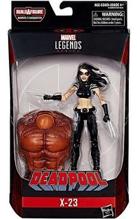 X 23 - Deadpool - Thanos - Wolverine - Marvel Legends - Hulk