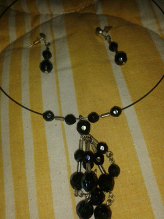 Collar Con Zarcillos Acero Inoxidable