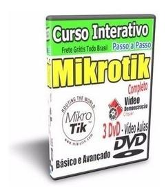 Curso Completo Mikrotik + Balance + Mk-auth +thunder+fibra