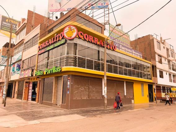 Se Alquila Local Comercial En Esquina Y Avenida Principal