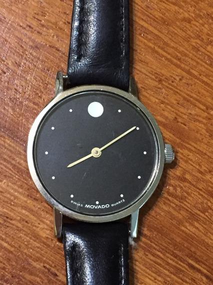 Relógio Movado Zenith Original Slim Suíço 30mm