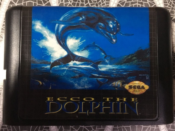 Jogo Mega Drive Ecco The Dolphin