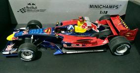 Mini 1/18 Minichamps F1 Red Bull Rb2 2006 Gp Mônaco Superman