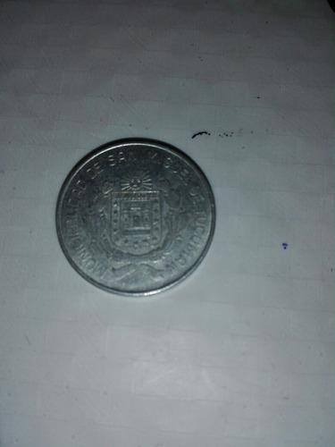 Moneda Antigua Municipalidad De San Miguel De Tucumán
