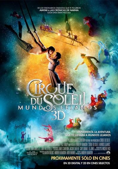 Poster Original Cine Cirque Du Soleil - Mundos Lejanos