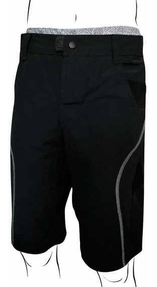 Calza De Ciclismo Con Badana Y Bermuda Crossing Deportiva Pantalon Corto Bermuda