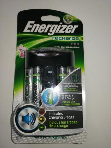 Cargador Pila Aa Y Aaa Energizer Pro