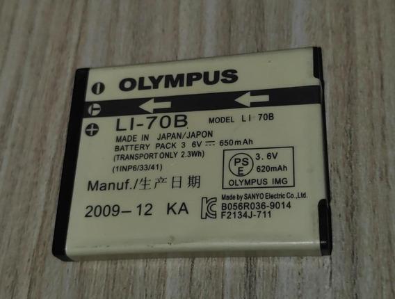 Bateria Camera Olympus Li-70b Cartela Fe4020 Fe4040 Vg110 Vg