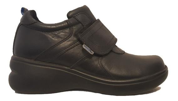 Calzado Escolar Zapatón Velcro Teener