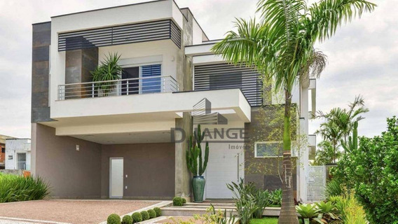 Maravilhoso Sobrado Com 320m², 3 Suítes, 2 Com Closet, Churrasqueira, Piscina, 4 Vagas De Garagem. - Ca12816