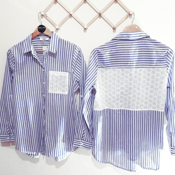 Camisa Con Brodery